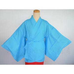 踊り用 半襦袢 ブルー M ポリエステル 100% senjyu