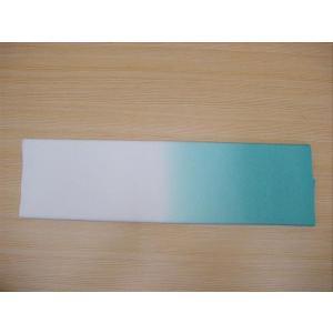 古代ちりめん 長尺手拭い 横柄 ブルー 150cm|senjyu