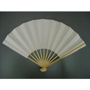 白扇子 イベント・祭り用舞扇子 27.5cm 9寸11間 白竹 並,3668
