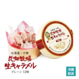 生キャラメル 12粒入 プレーン 花畑牧場 北海道 お土産 手造り