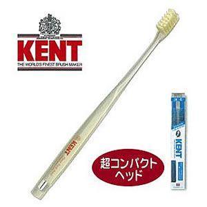 KENT 豚毛 コンパクトヘッド 歯ブラシ ふつう/かため|senkomat