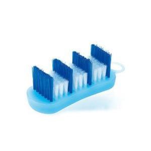 マーナ 風呂ブタ洗いブラシ ブルー|senkomat