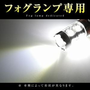 【2個セット】 LED フォグランプ H7 Cree