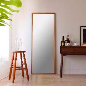 ジェミニ 60x155.5cm ホワイトアッシュ材 全2色 姿見 壁掛けミラー 全身鏡|sennoki