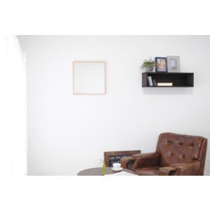 リブラ 42x42cm 全12色 カフェミラー 壁掛けミラー 正方形|sennoki