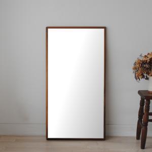 ステラ 54×102cm ホワイトアッシュ材 全4色 姿見 壁掛けミラー 長方形|sennoki