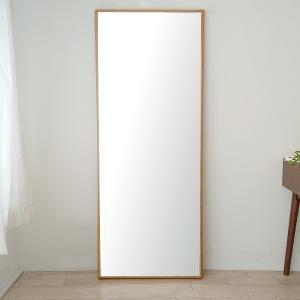 ステラ 62×155cm ホワイトオーク材 姿見 壁掛けミラー 全身鏡 sennoki