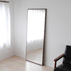 ステラ 62×155cm ホワイトアッシュ材 全4色 姿見 壁掛けミラー 全身鏡|sennoki