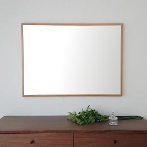 ステラ 64×88cm ホワイトオーク材 姿見 壁掛けミラー 長方形 sennoki