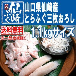 とらふぐ三枚おろし1.1kgサイズ|sennzaki-fugu-daiko