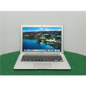 2013年式 カメラ内蔵高速SSD250GB 中古 13.3型 1440X900ノートPC 4世代i5 4GB MacBook Air A1466  BigSur11.2.2 動作品 senrakuen