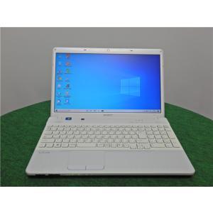 カメラ内蔵/中古/15型/ノートPC/Windows10/爆速新品SSD256/8GB/AMD E-450/リカバリー領域/SONY VPCEL25FJ  新品無線マウス Microsoft Office2019|senrakuen