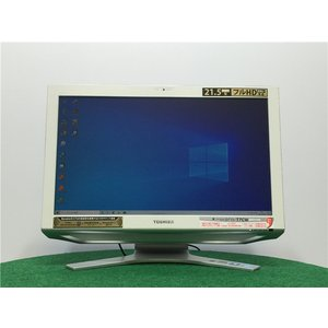 カメラ内蔵/中古/WIN10/新品無線KB&マウス/爆速新品新品SSD256/8GB/フルHD21型/2世代i5/TOSHIBA D711/T7CB一体型  Microsoft Office2019 |senrakuen