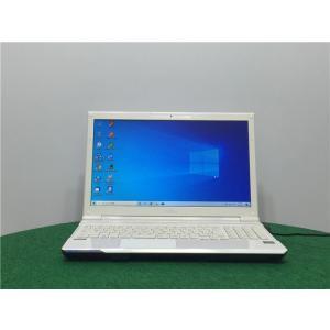 カメラ内蔵/15型/ノートPC/Windows10/爆速SSD256GB/8GB/AMD E2-1800/リカバリー領域/FMV FUJITSU AH40/J   新品無線マウス  Microsoft Office2019 senrakuen