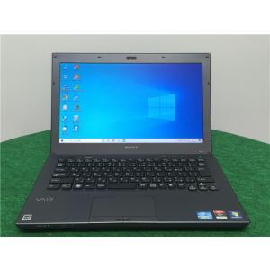 カメラ内蔵/中古/13型/ノートPC/Windows10/新品SSD256/4GB/2世代i3 /HD7400M/リカバリー領域/SONY VPCSB18FJ Microsoft Office2019|senrakuen