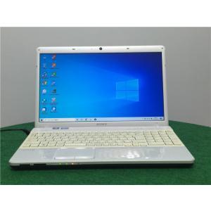 カメラ内蔵/15型/ノートPC/Win10/新品SSD256/8GB/2世代i3/リカバリー領域/SONY VPCEH18FJ  新品無線マウス Microsoft Office2019|senrakuen