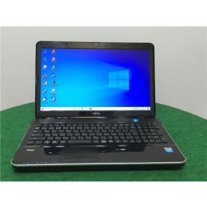 カメラ内蔵/中古/15型ノートPC/Win10/爆速新品SSD256/6GB/Pentirm B970/FMV AH30/L  新品無線マウス  Microsoft Office2019 senrakuen