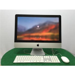 2011年式 アップル A1311 IMAC 2世代i5-2400S 8GB SSD240GB HD6750M  WiFi BT カメラ 21.5インチ★★Late 2011★★ senrakuen