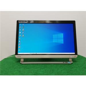 カメラ内蔵/中古/WIN10/新品無線キーボード&マウス/爆速新品SSD512/8GB/フルHD21型/4世代i7/TOSHIBA D71/NB一体型 リカバリー領域   Microsoft Office2019 senrakuen