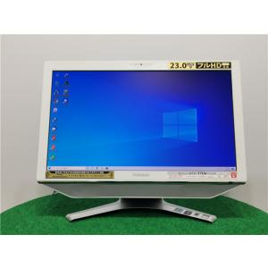 カメラ内蔵/中古/WIN10/新品無線KB&マウス/爆速SSD256GB/8GB/フルHD23型/2世代i7/TOSHIBA D731/T7EW一体型 動作良品  Microsoft Office2019 senrakuen