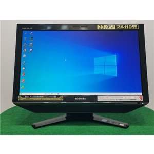 カメラ内蔵/中古/WIN10/新品無線KB&マウス/爆速SSD256GB/8GB/フルHD23型/2世代i5/TOSHIBA D731/T7DBD一体型 動作良品  Microsoft Office2019|senrakuen