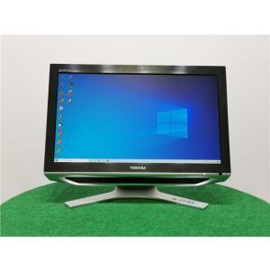 カメラ内蔵/中古/WIN10/新品無線KB&マウス/爆速新品新品SSD256/8GB/フルHD21型/2世代i5/TOSHIBA D711/T7CB一体型  Microsoft Office2019|senrakuen