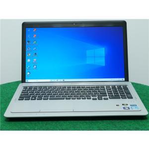 中古/16型/ノートPC/Windows10/爆速新品SSD256GB/8GB/2世代i5/GT520M/リカバリー領域/SONY VPCF237FJ  新品無線マウス  Microsoft Office2019|senrakuen