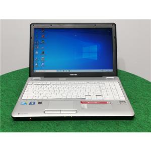 中古/15型/ノートPC/Windows/500GB/4GB/i3 M330/TOSHIBA BX/51L リカバリー領域    Microsoft Office2019 senrakuen