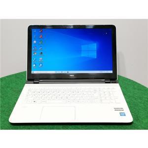 カメラ内蔵/15型/ノートPC/Windows10/新品SSD256/8GB/Celeron2957U/リカバリー領域/NEC LS150/S 新品無線マウス  Microsoft Office2019 senrakuen