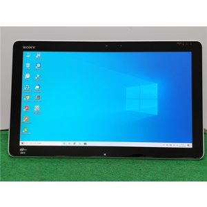 WEBカメラ/中古/WIN10/新品SSD/20型タッチパネルワイド一体型/SONY SVJ20238CJW リカバリー領域 Microsoft Office2019|senrakuen