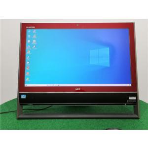 赤字覚悟/WEBカメラ/Win10/爆速新品SSD/フルHD21型一体型/3世代i7/NEC VN770/J   リカバリー領域  Microsoft Office2019 senrakuen