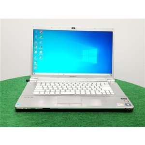 カメラ内蔵/中古/16型/ノートPC/Windows10/640GB/4GB/P8700/リカバリー領域/SONY VGN-FW74FB   Microsoft Office2019 senrakuen