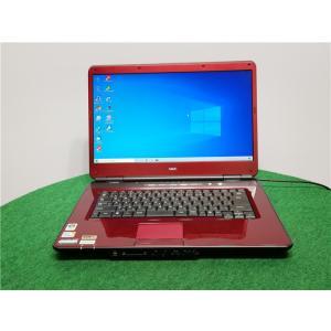 中古/15型/ノートPC/Windows10/500GB/4GB/P8600/リカバリー領域/NEC LL750/T  Microsoft Office2019 senrakuen