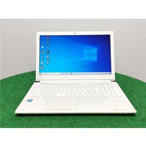 カメラ内蔵/中古/15型/ノートPC/Windows10/新品SSD256GB/8GB/Celeron3865U/TOSHIBA T45/CW  新品無線マウス Microsoft Office2019|senrakuen