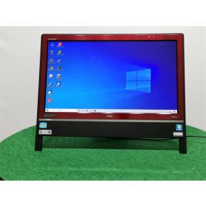 中古/WIN10/新品SSD256GB/20型ワイド一体型/NEC VN770/D リカバリー領域 Microsoft Office2019 senrakuen