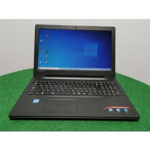 カメラ内蔵/中古/15型/ノートPC/Win10/新品SSD256GB/4GB/CEL N3060/リカバリー領域/Lenovo 300-15IBR  新品無線マウス  Microsoft Office2019|senrakuen