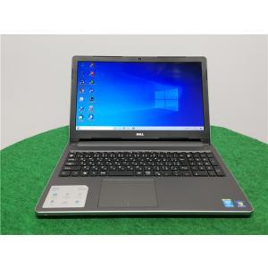 カメラ内蔵/中古/15型/ノートPC/Windows10/新品SSD256/6GB/4世代i3/リカバリー領域/DELL 5558 /新品無線マウス Microsoft office2019|senrakuen