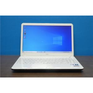 中古 ノートパソコン ノートPC Windows10 WPS Office 新品SSD120GB メモリー4GB i5 NEC LS150/E DVDマルチ 15型 動作品 senrakuen