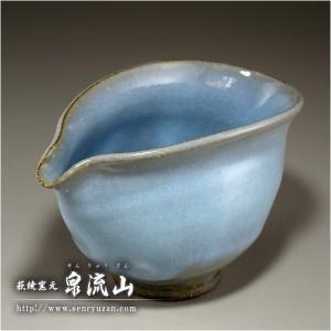 ■特徴 焼き方の工夫であらわれた、青色(ブルー)の片口です。 日本酒に限らず、冷ましや、ドレッシング...
