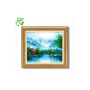 高木タケシ油絵額F10 「自然の調和」 1117240 senssyo