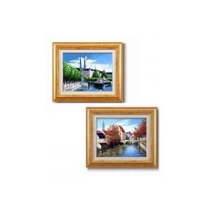 広瀬 和之油絵額F6金 1140040・シャトル風景|senssyo