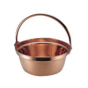 1100102 MT 銅 山菜鍋(吊付) 33cm|senssyo