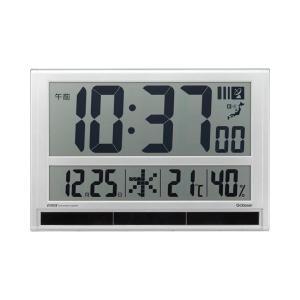 キングジム ハイブリッドデジタル電波時計 GDD-001|senssyo