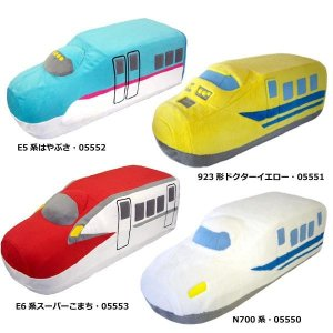 新幹線グッズ トレインクッション E5系はやぶさ・05552|senssyo