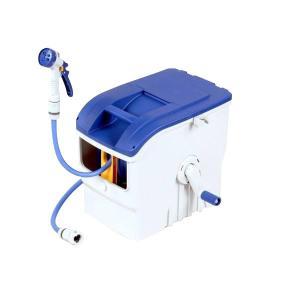 グリーンライフ ボックス型ホースリール ウェイビー BOX ブルー PRB-30(BL)|senssyo