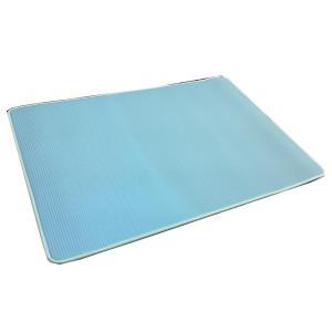 大島屋 ふわりーなシリーズ マルチマット リバーシブル BL(ブルー) 約60×90cm|senssyo