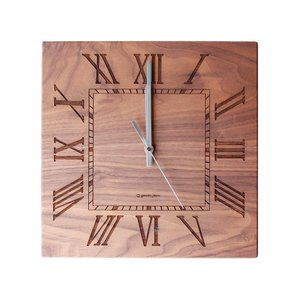 ヤマト工芸 MUKU -ローマ数字- YK14-101 ウォールナット|senssyo