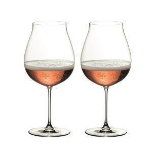 リーデル ヴェリタス ニューワールド・ピノ ワイングラス 6449/67 (790cc) 2脚箱入 665 senssyo