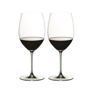 リーデル ヴェリタス カベルネ/メルロー ワイングラス 6449/0 (625cc) 2脚箱入 666 senssyo