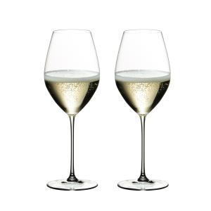 リーデル ヴェリタス シャンパーニュ ワイングラス 6449/28 (445cc) 2脚箱入 667 senssyo